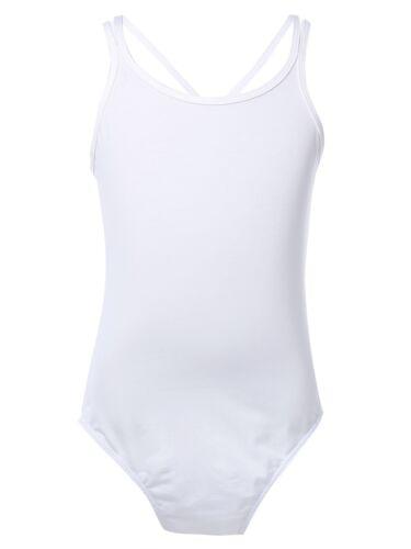 Girls Ballet Leotard Dance Dress Kid Gymnastics Shiny Leotards Dancewear Costume