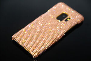 promo code 0ad75 2c9b2 Details about Bling Gold Diamond Case Cover For Samsung Galaxy S9 Plus WITH  SWAROVSKI ELEMENTS