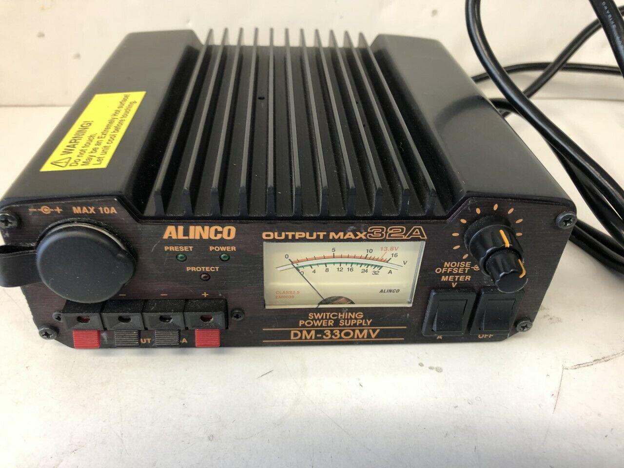 Alinco Dc Stabilized Power Supply Switching Type 32A Dm-330 Mv F//S w//Tracking#