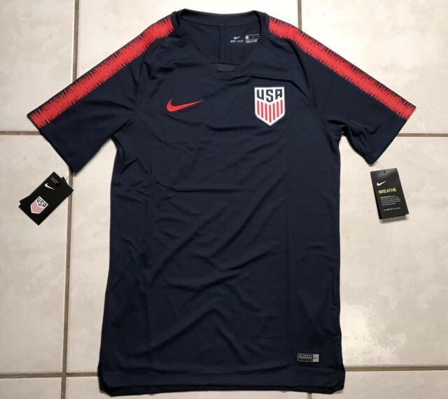 11d507157 Nike USA National Team 2018 Pre Match Training Jersey Men s Small ...