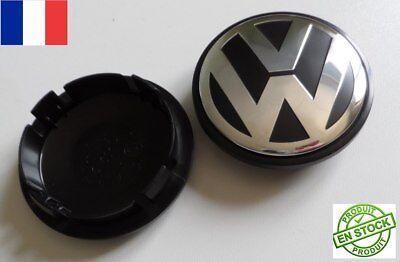 Volswagen Touareg Crafter centre de roue jante 76 mm Logo Jante  NEUF lot de 2