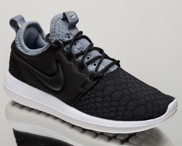 dca2e5b8b0ed Nike WMNS Roshe Two SE 2 women lifestyle sneakers NEW black grey 881188-001