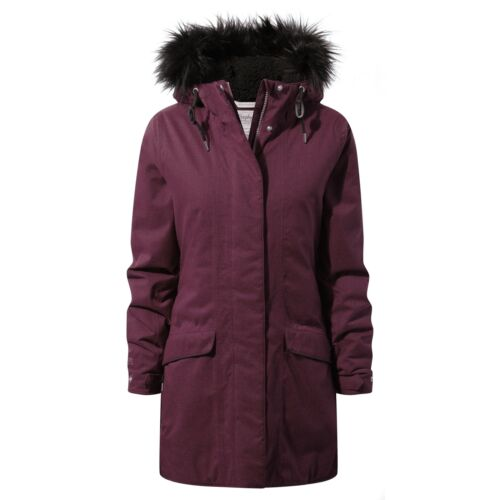 Craghoppers Inga Jacket Ladies Parka Waterproof Insulated Coat