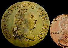 P523: 1820 British Royal Family Medal - Death of George III