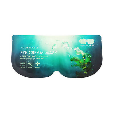 [NATURE REPUBLIC] Aqua Collagen Solution Marine Hydrogel Eye Cream Mask - 1pcs