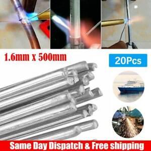 20Pcs Super Melt Flux Cored Aluminum Easy Solution Welding Rods High Quality US