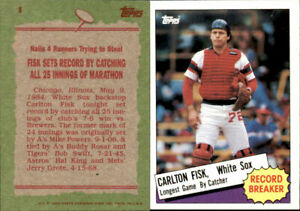 1985 Topps Baseball Cards Complete Your Set U-Pick #'s 1-200 NM/MINT