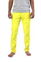 Skinny Yellow Jeans Made In Usa Men Urban Classic Stretch Low Rise Solo 26 28