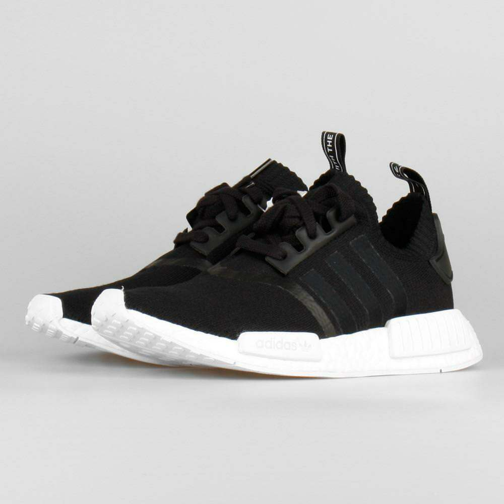 Adidas NMD R1 PK Black White OG Monochrome Size 14. BA8629 yeezy ultra boost