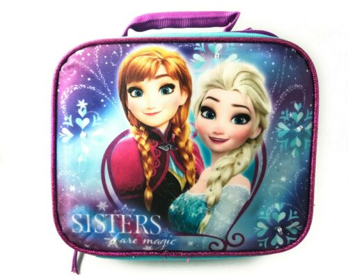 Disney Frozen *Sisters Are Magic* Lunch Box with Super Lights NEW with Tags*