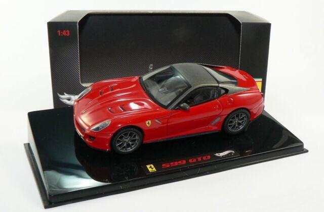 HOTWHEELS ELITE 1/43 FERRARI 599 GTO!!