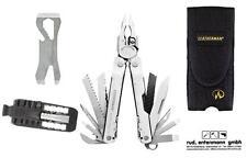 Leatherman Multi Tool Super Tool 300 + Croc + Bithalter + Holster