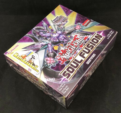 Soul Fusion Booster Box Sealed English 1st Edition 24 Pack//9 card 2018 Yu-Gi-Oh