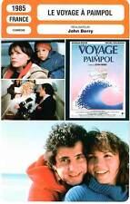 FICHE CINEMA : LE VOYAGE A PAIMPOL - Boyer,Boujenah,Doll,Berry 1985