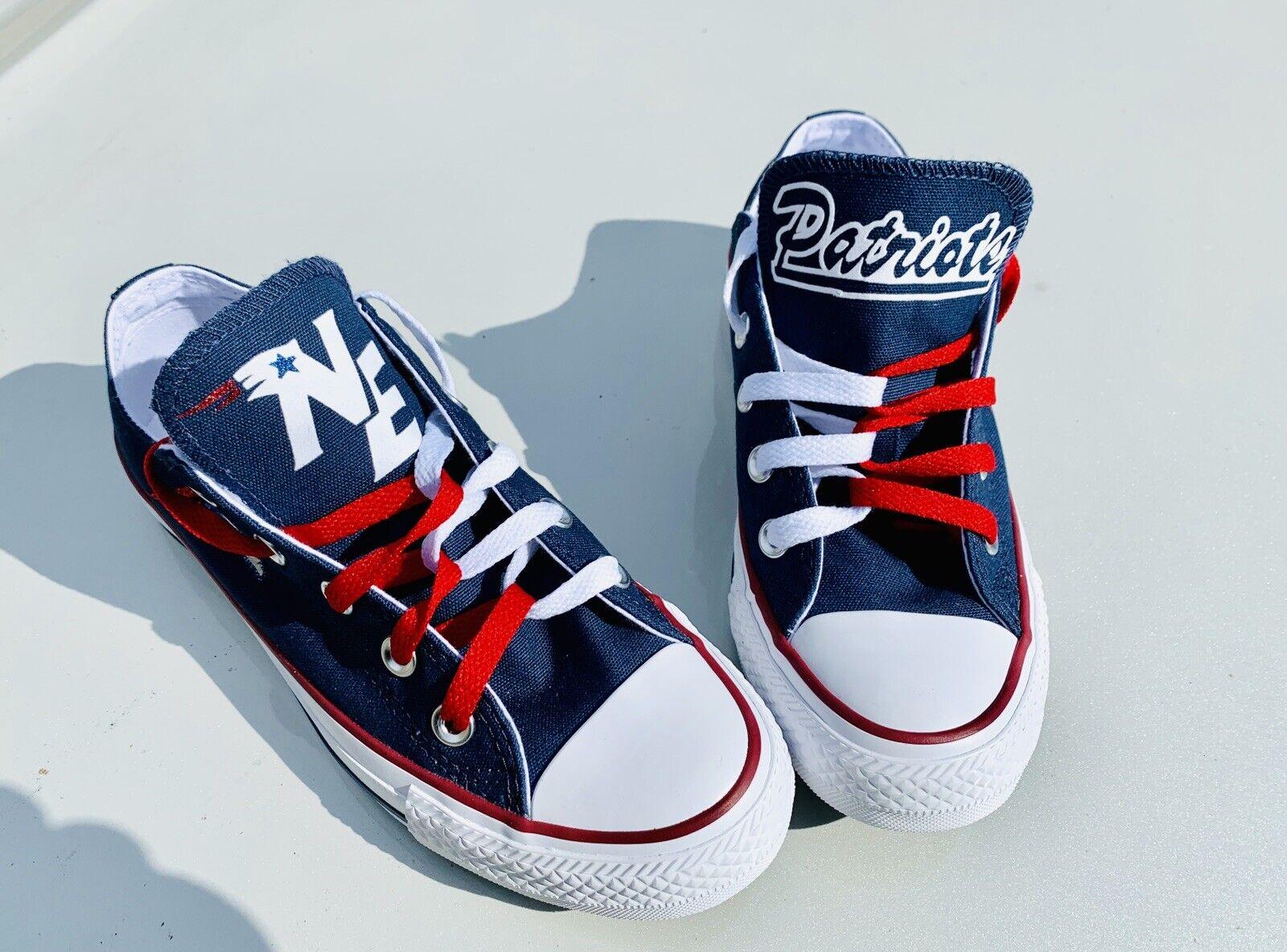Conversione All Star New England Patriots donna scarpe All Dimensiones,  New in box  garanzia di credito