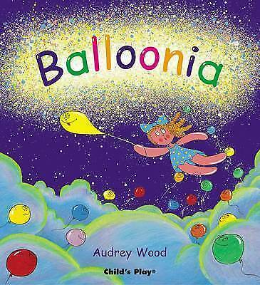 1 of 1 - Balloonia Paperback Book by Audrey Wood