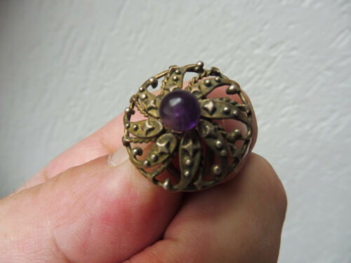 Beautiful Old RING835 Silverwith amythistperle : watches costume jewelry - Germanpascual.Com