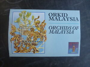 1994-MALAYSIA-ORCHIDS-OF-MALAYSIA-HONK-KONG-039-94-STAMP-MINI-SHEET-MNH
