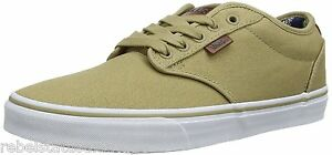 Details about VANS Vulcanized Skate Trainers Shoes Men's ATWOOD Deluxe Canvas Beige UK 6, 11