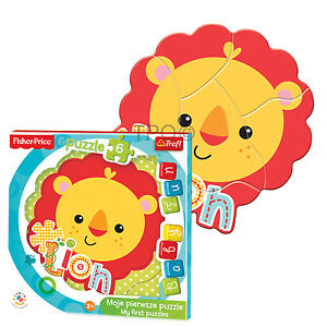 Trefl 6 Piece Baby Fun Kids Infant Unisex Lion Cub Shaped Frame