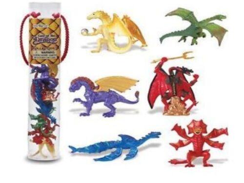 6 personaggi serie temi Zona Safari Ltd 685704 Set DRAGO 2