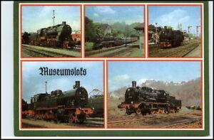 DDR-Mehrbild-AK-Dampflok-Lokomotive-Eisenbahn-Motiv-AK-Reichenbach-Verlag-Vogtl