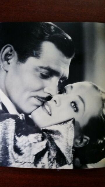1934 Vintage & Unique Chained Black White Picture - Clark Gable Joan Crawford