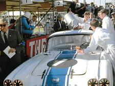 ROY WINKELMANN CHEVROLET CORVETTE 1962 GOODWOOD TOURIST TROPHY TT DAN COLLINS 2