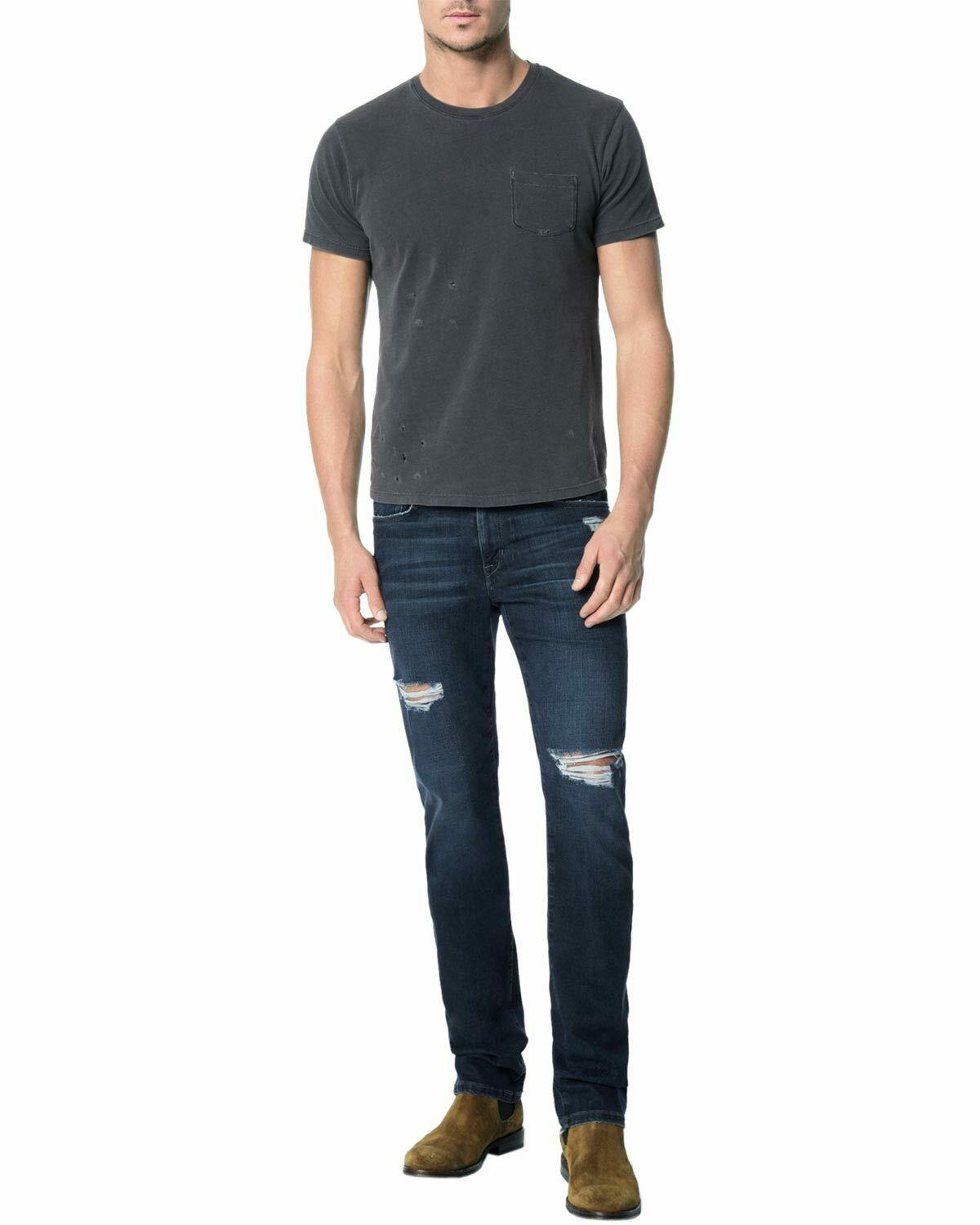 Joe's Jeans Kinetic Collection Brixton Straight Narrow Jeans 38 Malroy