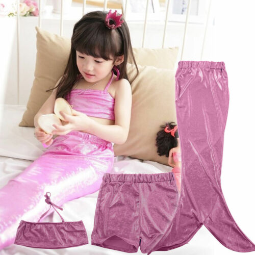 Girls Mermaid Tail Swimmable with Bikini Set to Match 6 Colours NEW