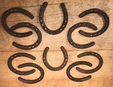 "Cast Iron Horse Shoe 4 1//4/"" tall ONE Wedding Supply 0170-05210"
