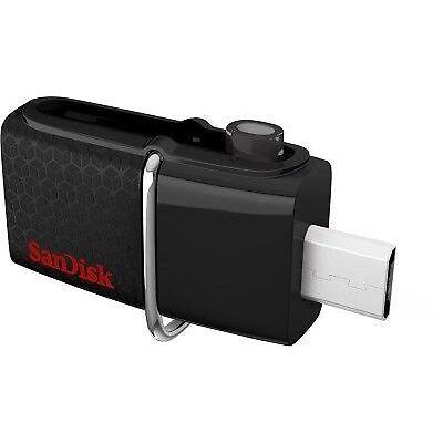 SanDisk Ultra Dual 64GB USB Drive 3.0 Black ( up to 150 MB/s ) ( SDDD2-064G-G46 )
