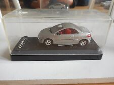 Solido Peugeot 206 CC in Grey on 1:43 in Box