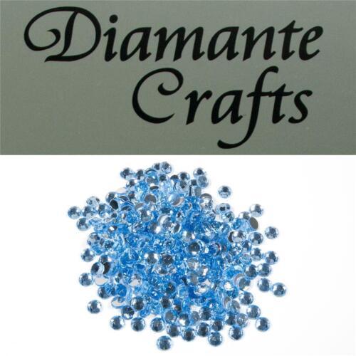 4 mm ronda diamante Suelto Piso Trasero Craft Gemas Elegir De 18 Colores