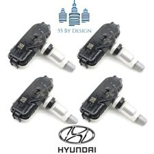 Set Of 4 Genuine Oem Hyundai Elantra Gls Limited Tpms Tire Pressure Sensors Kit