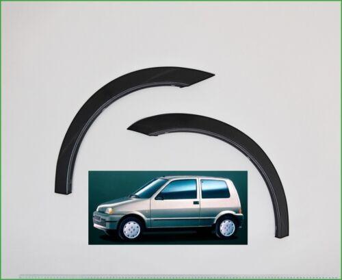 FIAT CINQUECENTO Noir Mat Extensions D/'aile 2 AV ou 2 AR Année 1996-1998 neuf