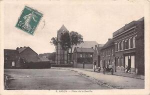 CPA-62-AVION-PLACE-DE-LA-BASTILLE