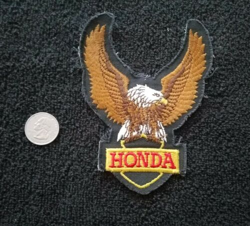VINTAGE 1970s HONDA  Eagle motorcycle Racing Jacket vest biker Patch sew on