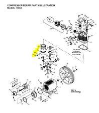 Z9108 Champion Low Pressure Piston Kit For Pump Model R40a Air Compressor Parts