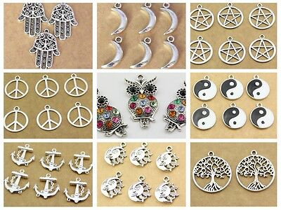 new wholesale 10pcs Multi-style pendant necklace jewelry  accessories hot