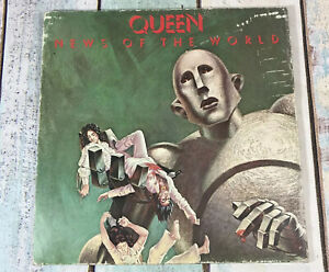 QUEEN-NEWS-OF-THE-WORLD-Vinyl-LP-RECORD-Album-1977-EMA784