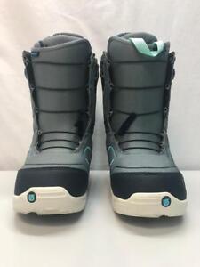 c3dd7c6b76 Image is loading Burton-Ambush-Snowboard-Boots-Stoned-Grey-and-Blue-