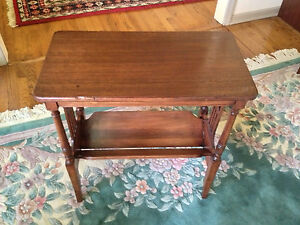 values vintage end table