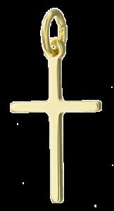 Gold-Anhaenger-Kreuz-Kreuzanhaenger-333-8K-8-Karat-333er-Echtgold-Schmuck-Massiv