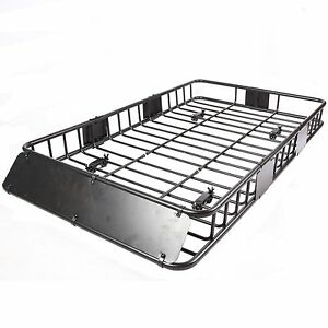 Universal 64 Quot Black Roof Rack Extension Cargo Top Luggage