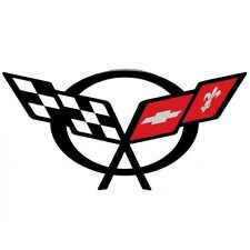 C5 Z06 ZO6 Corvette Flag Logo Decal 1997 1998 1999 2000 2001 2002 2003 2004