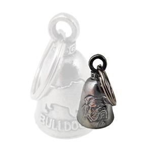 Biker-Motorrad-Guardian-Bell-Glocke-Gluecksbringer-Bulldogge-Bulldog-Dog-DW0738