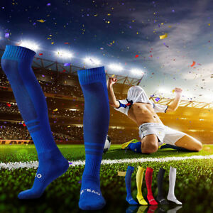 Mens-Football-Soccer-Socks-Over-Knee-High-Long-Sock-Baseball-Hockey-Runing-Sport