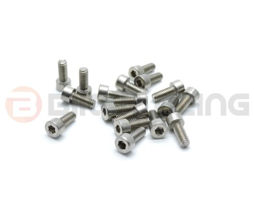 20x Aprilia M4x14 stainless steel carburettor carbs top float bowl cover bolts