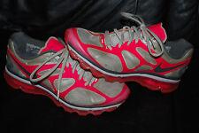 Women's Nike Air Max + 2012 White Pink Silver Running Sneaker (9.5)